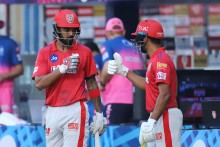 RR Vs KXIP LIVE: KL, Agarwal Eye 100-run Opening Stand