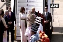 Live Updates: Prez Trump Arrives In Ahmedabad, PM Modi Accords Warm Welcome