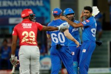 KXIP Vs DC: Punjab In Big Trouble, Agarwal Run Out; 87/3 (9)