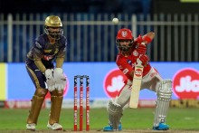 KKR Vs KXIP: Chakravarthy Gets KL Rahul; Target 150
