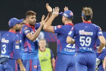 Avesh Khan Removes MS Dhoni For A Duck; Chennai 137/6