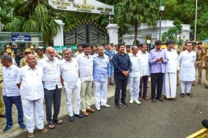 17 K'taka Rebel MLAs Stay Disqualified, But Can Contest Dec 5 Bypolls: SC