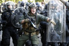 US President Donald Trump Threatens To Deploy Military To Quell Protests