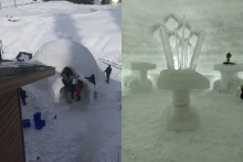 India's First Igloo Cafe Comes Up In Gulmarg; Check Pics