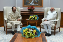 Maharashtra CM Uddhav Thackeray, Son Aditya Meet PM Modi In Delhi