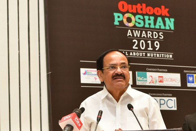 Outlook Poshan Awards 2019: Nature, Culture Together For A Better Future, Says Vice-Prez Venkaiah Naidu