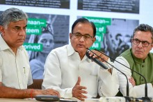 'Broad Daylight Murder Of Law, Democracy': Cong Lashes Out At Govt Over Chidambaram's Arrest