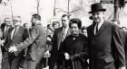 Step in time: Indira Gandhi with LBJ in Washington, 1966