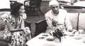 <b>Subtle bond</b> Edwina Mountbatten has tea with Nehru