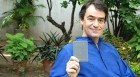 Shriman Sam: Sam Miller shows off his hard-won PIO card at his Delhi residence