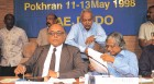 R. Chidambaram, K. Santhanam, Kalam at a post-Pokhran conference in 1998