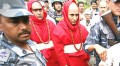 Indian priests who were assaulted