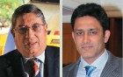 <b>Ethical cuts</b> N. Srinivasan and Kumble