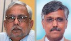 Petroleum secretary Vivek Rae (left) stood up for Giridhar Aramane, in vain