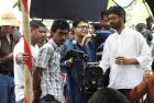 <b>Last shots</b> Rituparno Ghosh with his crew during the shooting of <i>Satyanweshi</i>