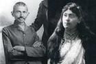 "<b>Gandhi Before Mahatmahood...</b> ""Spiritual husband"" <b>...and the young Tagoress</b> Saraladebi, turn of century"