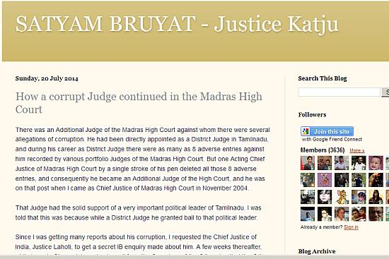 'How A Corrupt Judge Continued In Madras High Court'