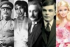 Joseph Stalin, Josephine Baker, Albert Einstein, Alan Turing, Barbie