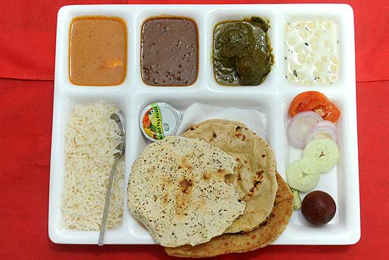 Eating At Tihar's Court