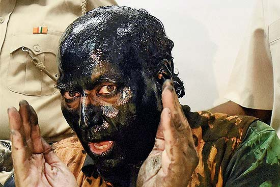 Bring Out The Brushes: Tug Of War Over A Tin Of Tar