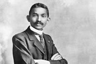Mahatma's White Period