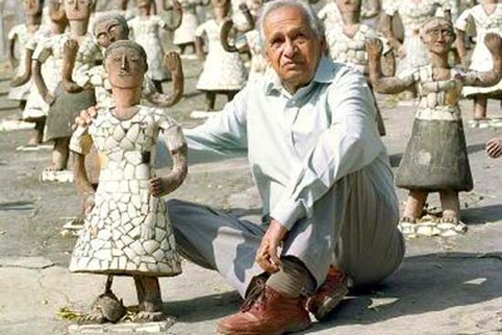A Tribute to Nek Chand Saini