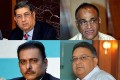 <b.Missed calls</b> BCCI offcials Srinivasan, Niranjan Shah, Ravi Shastri and Chirayu Amin appeared before the ED