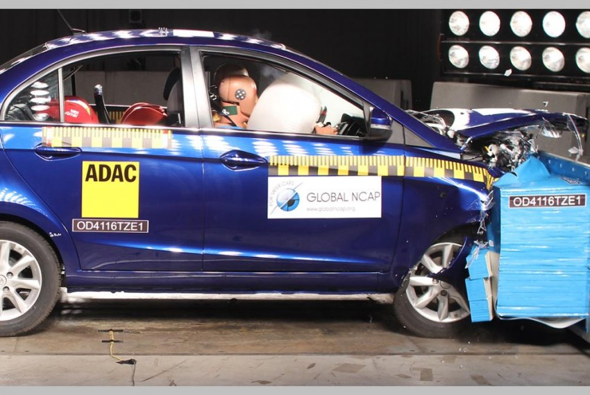 After A Zero At First Attempt, Tata Zest Wins Four-Star Rating In Crash Test