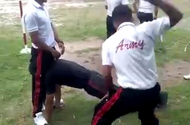 Army Senior Cadets Dish Out Barbaric Punishment To Juniors