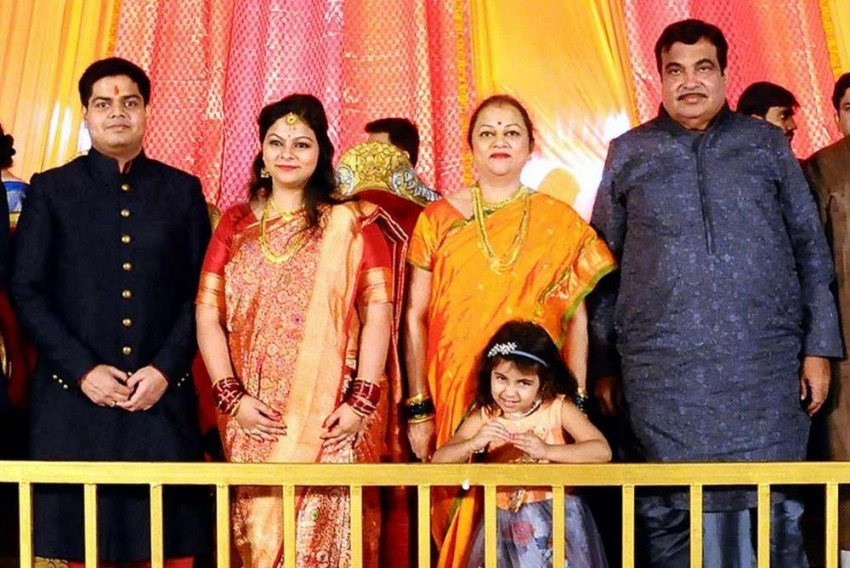 Over 10,000 Guests In 50 Chartered Flights For Gadkari's Daughter's Wedding