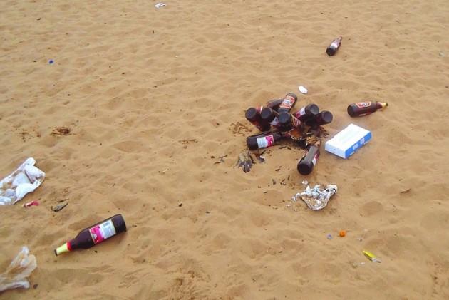 No More Drinking On Goa Beaches?