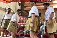 Looking For RSS Women In Shorts Is Like Looking For Women In Men's Hockey Team, Says RSS On Gandhi's Remark
