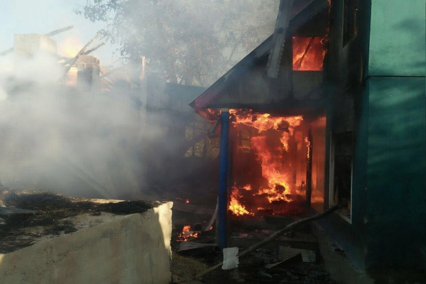 Angry Over Militant's Killing, People Set PDP Panch's House On Fire In Kashmir