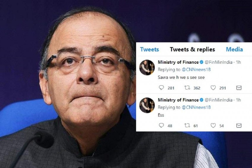 When Ministry Of Finance Has A Covfefe Moment