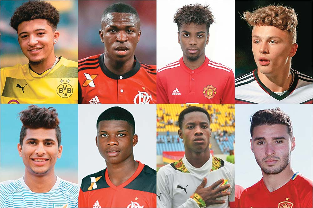 Which Of The Boys Playing The Under-17 World Cup In  India Could Become International Soccer Stars Tomorrow?