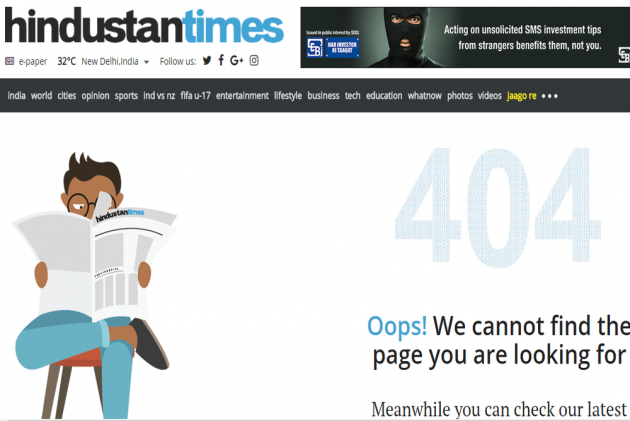 Two Days After New Editor Takes Charge, <em>Hindustan Times</em> Pulls Down Popular 'Hate Tracker' Webpage