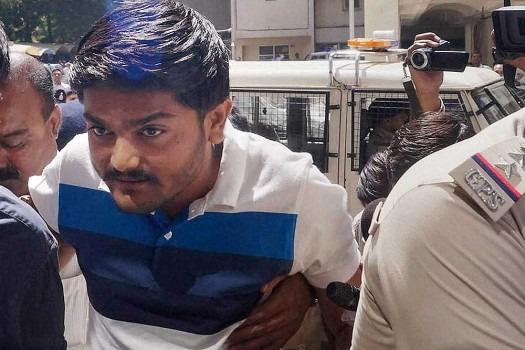 Hardik Patel Appers Before Court In Vandalism Case, Arrest Warrant Against Him Cancelled