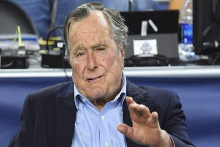 Former US President George HW Bush Apologises After Actress Accuses Him of Groping
