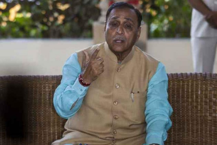 Gujarat CM Rupani Alleges Ahmed Patel Has Link With ISIS Suspect, He Refutes Charge