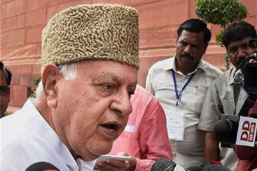 'We Are Not Fighting For Pakistan. Our Movement Is Political,' Says Farooq Abdullah