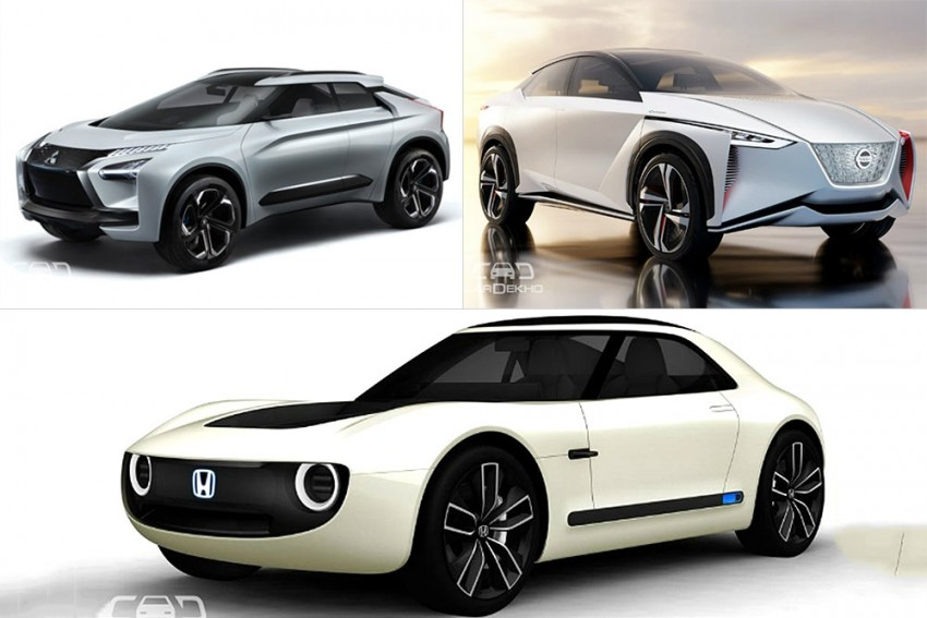 Japanese Auto Giants Give A Glimpse Into Their Future EVs