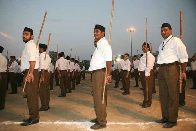 Constructing RSS Role In The Freedom Struggle