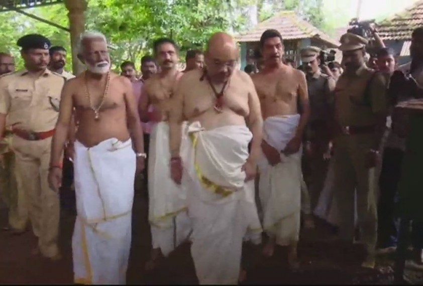 BJP Chief Amit Shah Cuts Short Kerala-Karnataka Trip, Returns To Delhi For 'Emergency Work'