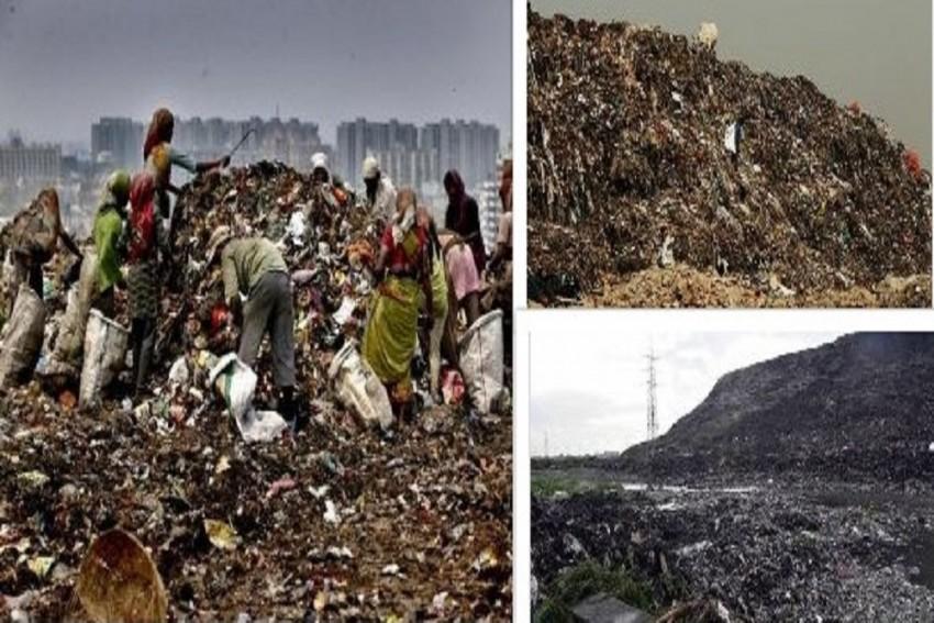 Uttar Pradesh's Ghazipur Landfill Spews Toxic Fumes Choking Residents