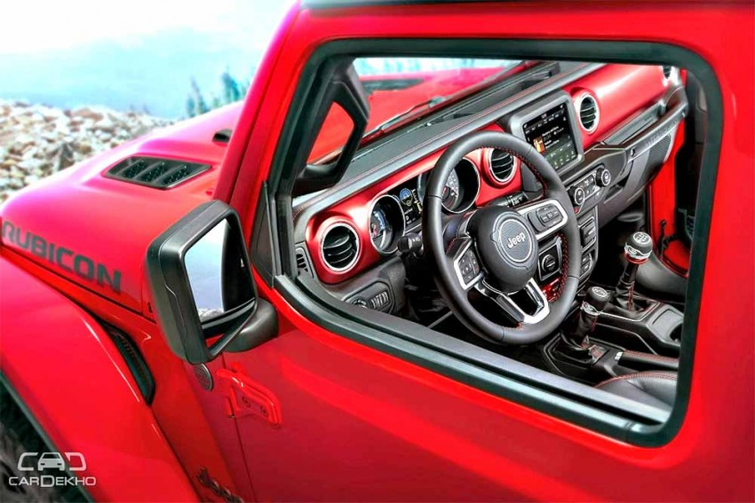 New Jeep Wrangler Interior Revealed