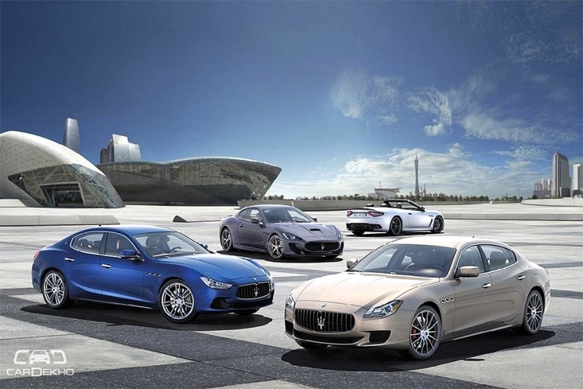 Maserati India Offering 5-Year Warranty And Service Package