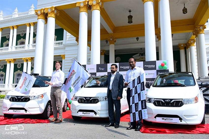 Zoomcar Ties Up With Mahindra Electric To Launch EVs In Mysuru