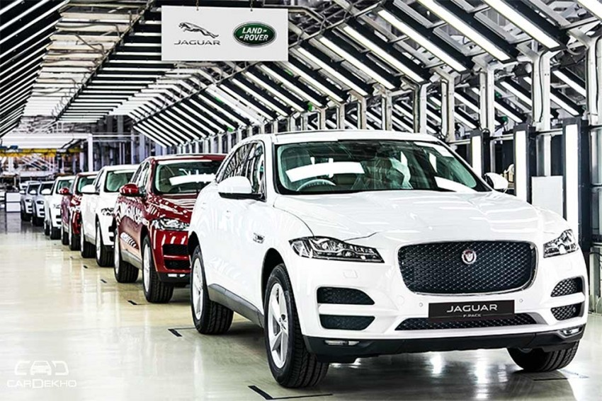 Locally Manufactured Jaguar F-Pace Launched In India