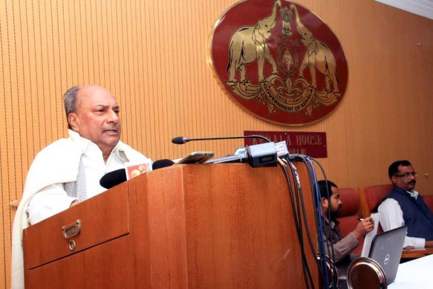 Intolerance Growing Like Never Before, India Losing Its Values: AK Antony