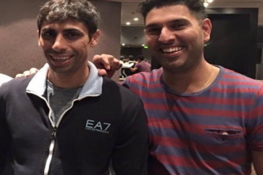 When I First Saw Ashish Nehra, I Thought Someone Has Put Ants In His Pants: Yuvraj Singh